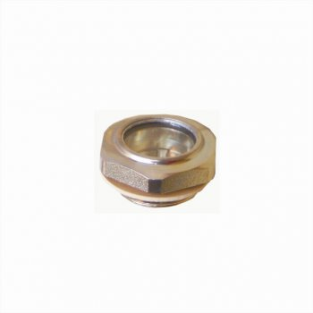 """optický hladinoměr kruhový kovový s šestihranem1/2"""""""